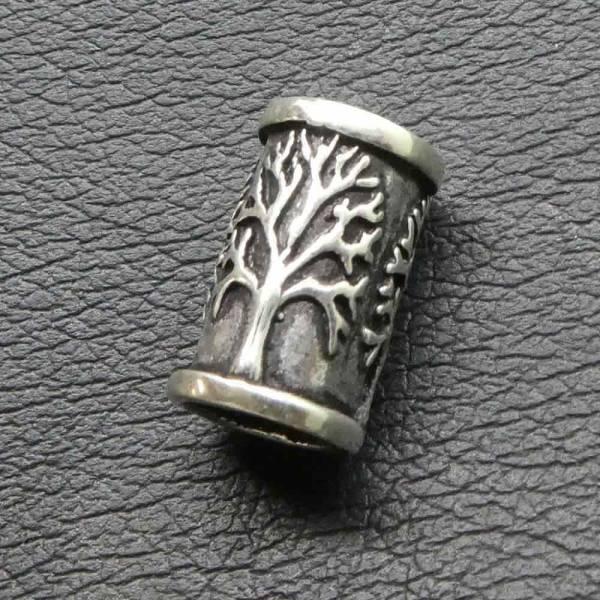 Lebensbaum Bartperle 925 Silber Bartschmuck