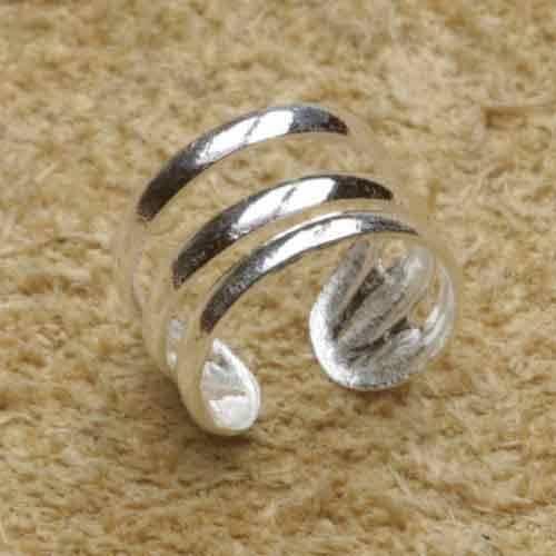 Ohrklemme 925 Silber schlicht Ohrschmuck