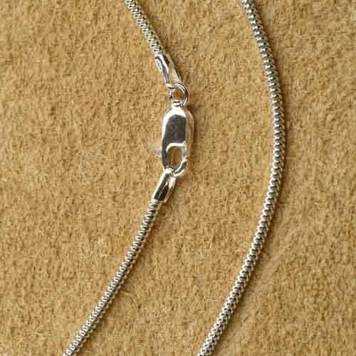 Schlangenkette 1,6mm Silberkette Halskette online