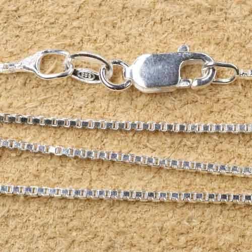 Venezianer Silberkette 1mm diverse L