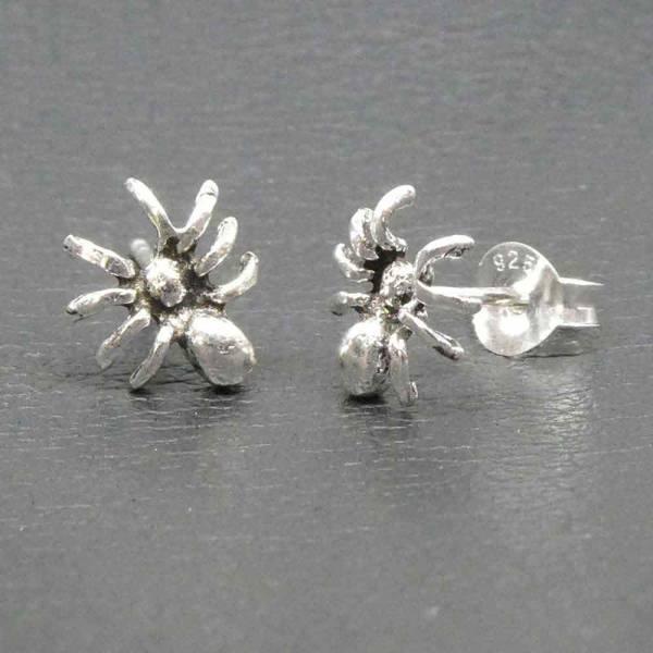 Spinne Ohrstecker Silber Ohhring