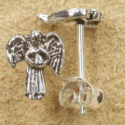 Engel Ohrstecker Ohrring Silber