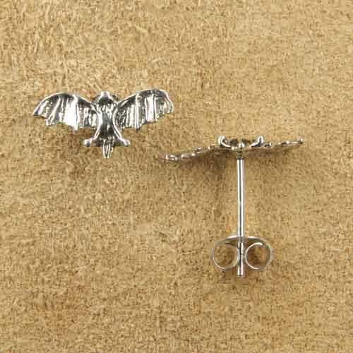 Fledermaus Ohrstecker Ohrring
