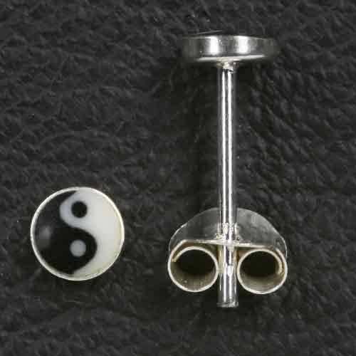 Jing Jang Ohrstecker 925 Silber