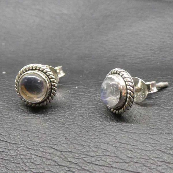 Mondstein Ohrring Silber