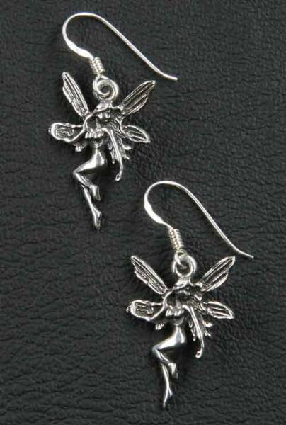 Elfe Ohrringe Ohrschmuck Silber