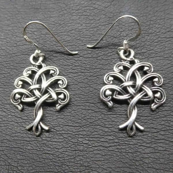 Keltischer Lebensbaum Einhänger Silber