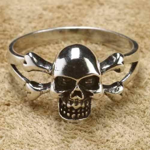 Totenkopf Silberring 925 Sterlingsilber