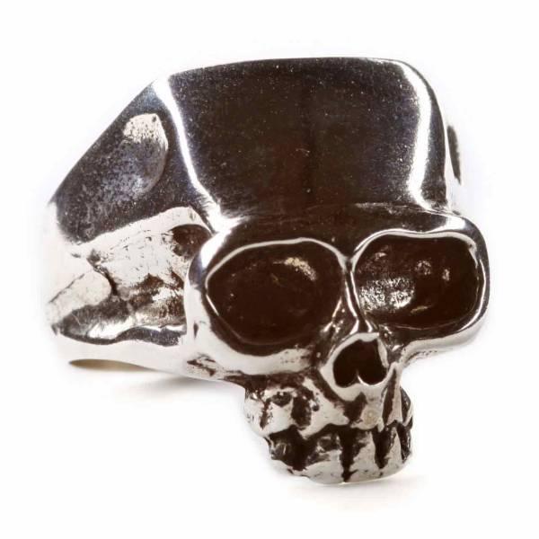 Totenkopf Ring 925 Silber Gothic Skull