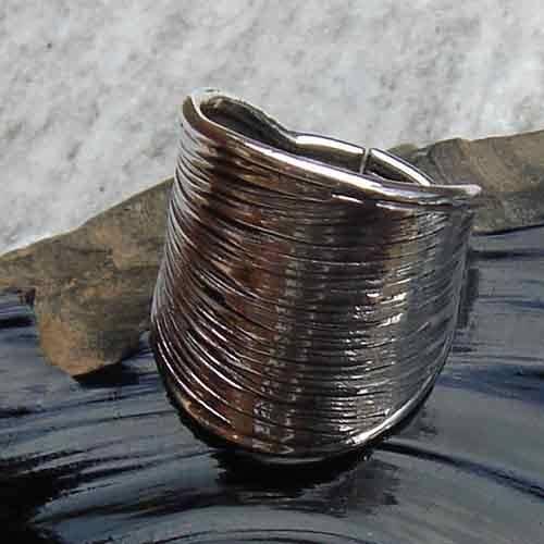 Designer Silberring 925 Silber