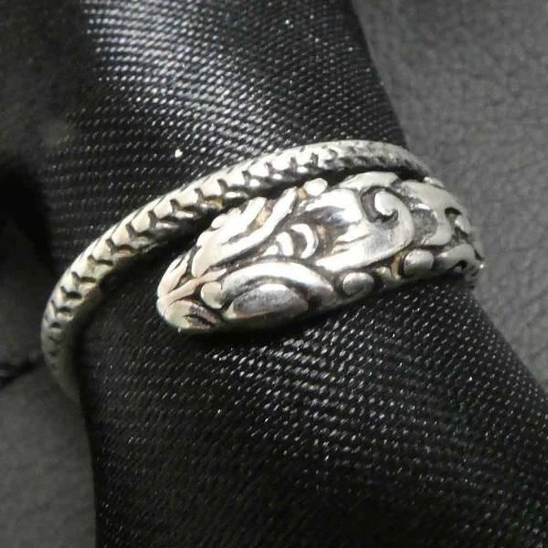 Schlangen Ring Silber Damen Kinder Schmuck