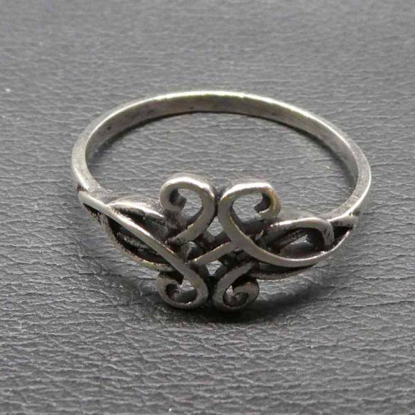Feiner Ring Silber keltisches Motiv Kinder