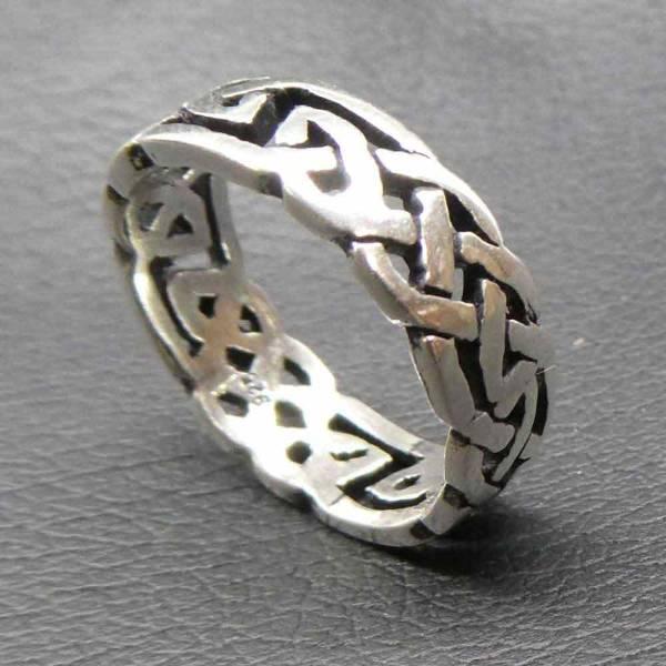 Keltischer Ring Silber Damen Kinder