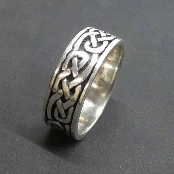 Kelten Ring Silber Schmuck Silberring