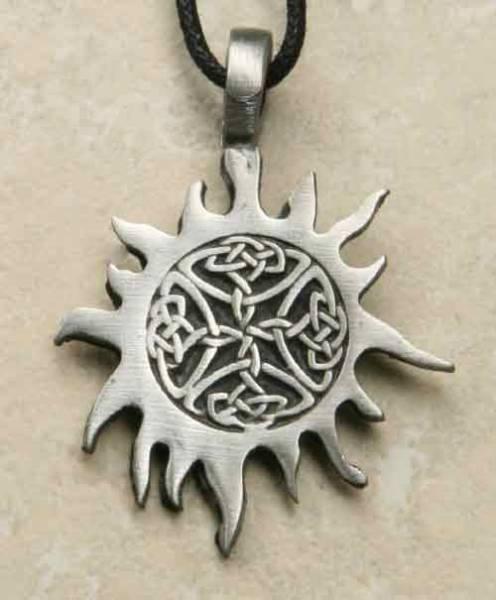 Amulett keltische Sonne