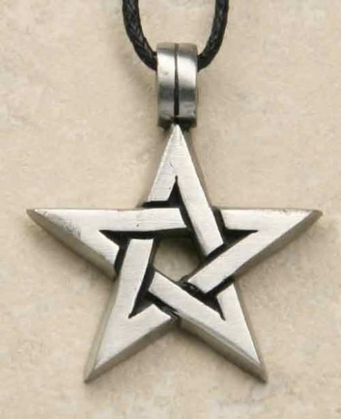 Pentagramm offen Schmuck Anh