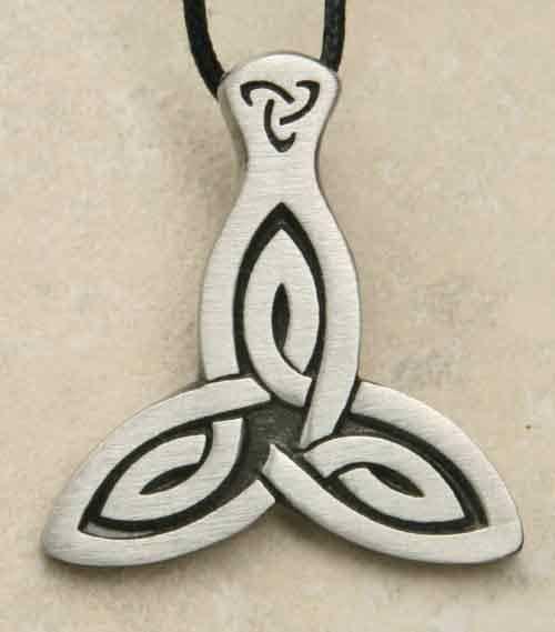 Tris Schmuck keltisches Amulett