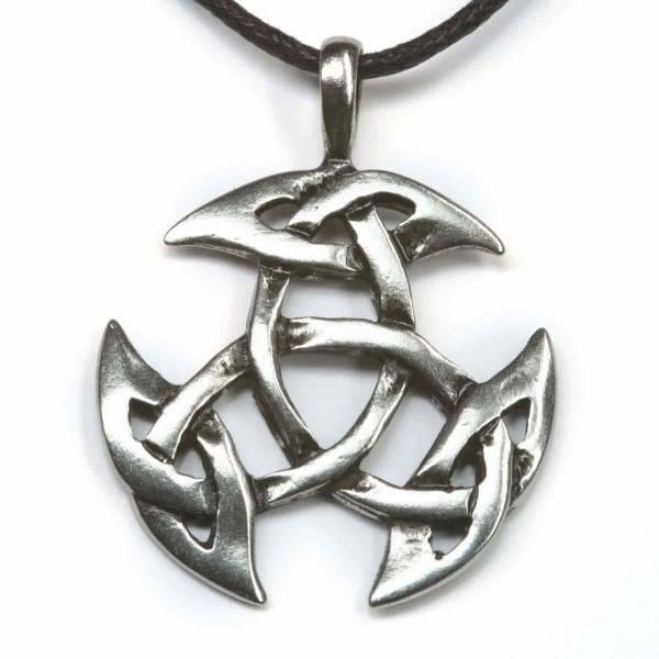 Keltisches Amulett Schmuck anhänger Zinn