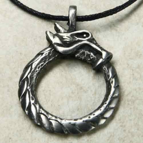 Midgard Schlange Amulett
