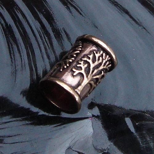 Bronze Bartperle Lebensbaum