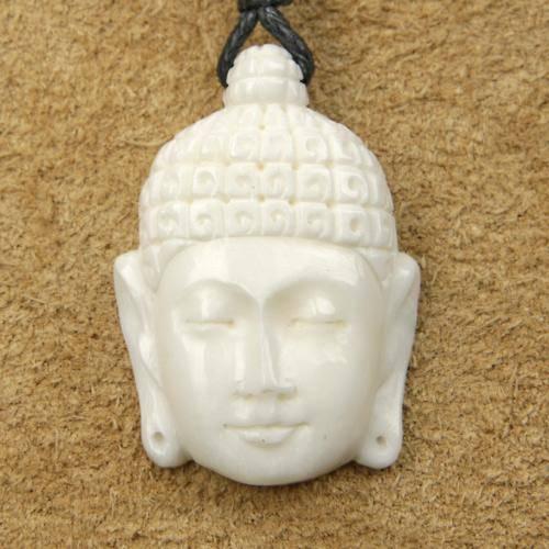 Buddha Schmuck Knochen