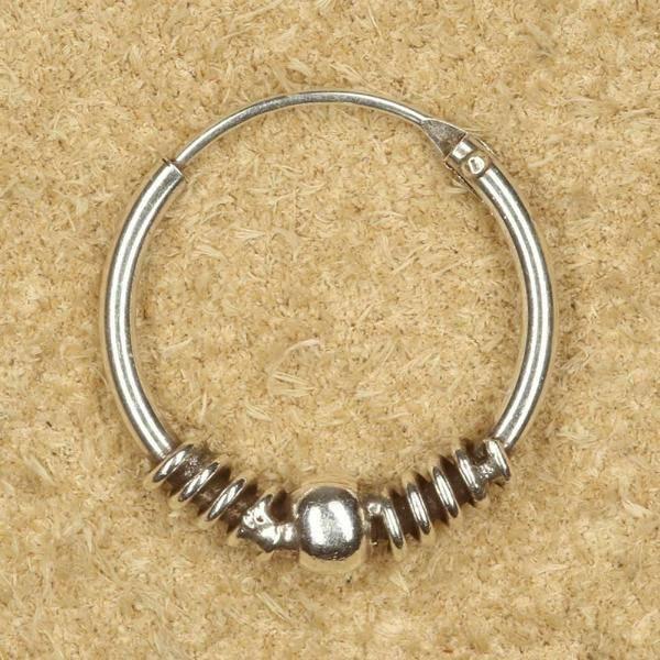 Creole Schmuck 16mm Silber