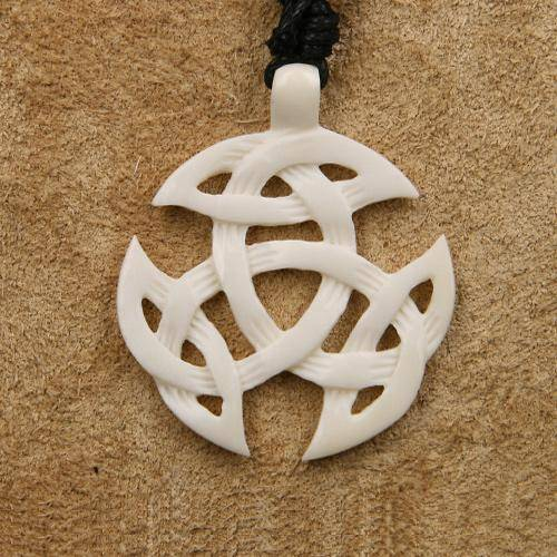 keltischer Schmuck Knochen Dreifaltigkeit