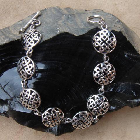 Kelten Armschmuck Silber Armband
