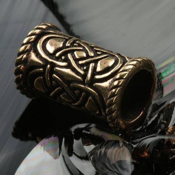 Bartschmuck keltisch Bronze günstig