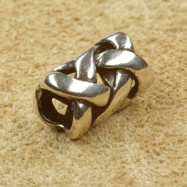 Bartperle keltisch Silber