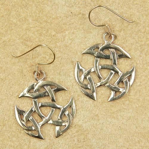 keltischer Ohrschmuck Bronze