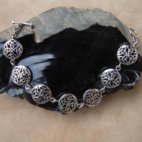 keltisches Armband 925 Silber Armschmuck