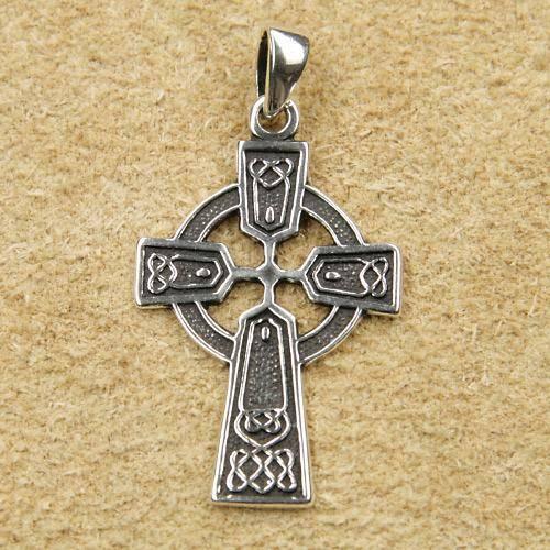 keltisches Kreuz Schmuck Silber