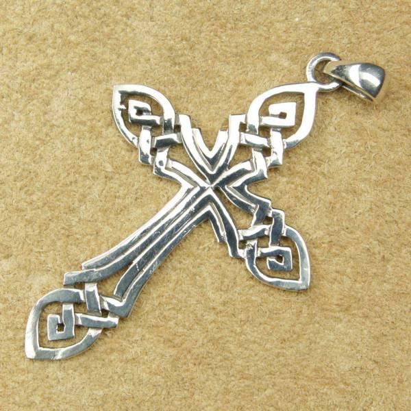 keltisches Kreuz Schmuck Silber Gotik