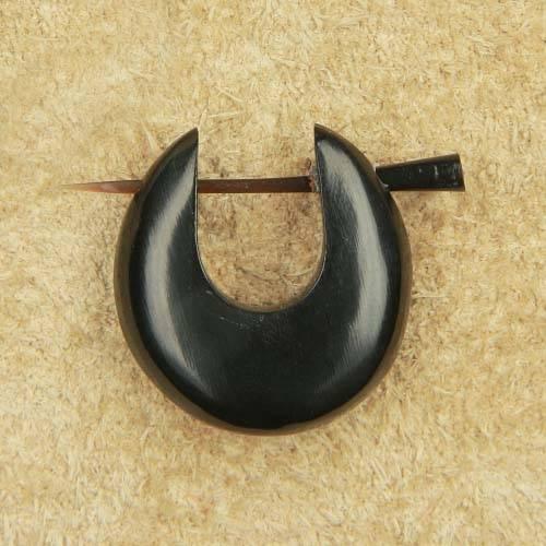 Kreole Horn schlicht