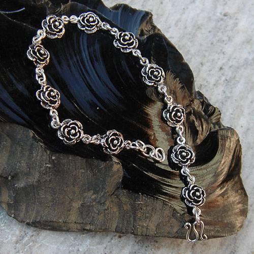 Armband Rose  925 Silber Armschmuck