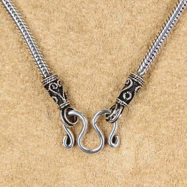 Schlangenkette Schmuck Silber