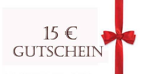 15€ Schmuck Geschenk Gutschein