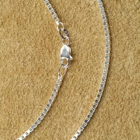 Silberkette Schmuck Venezianerkette