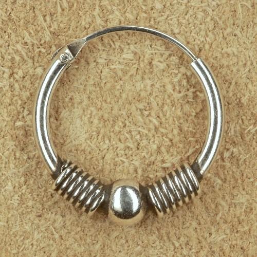 Silberschmuck Creolen 16mm Ohrring