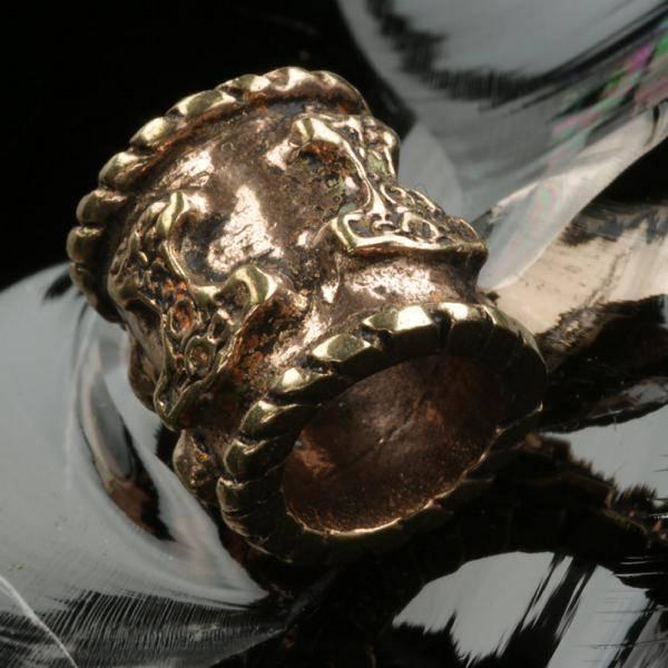 Thorshammer Bartperle Bronze