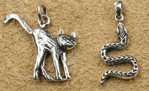 Tiere Silberschmuck Anhänger